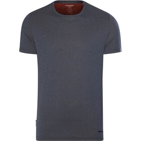 Mammut Crashiano T-Shirt Men marine melange-dark orange